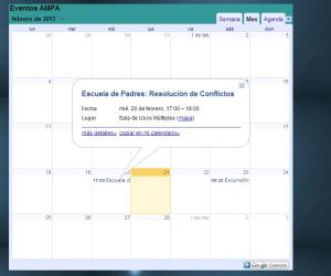 Captura calendario