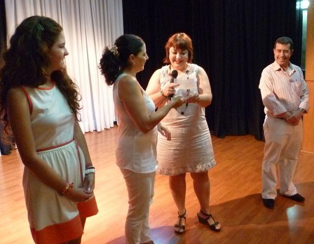 Entrega del Premio a la Excelencia en Bachiller La Salle Virgen del Mar