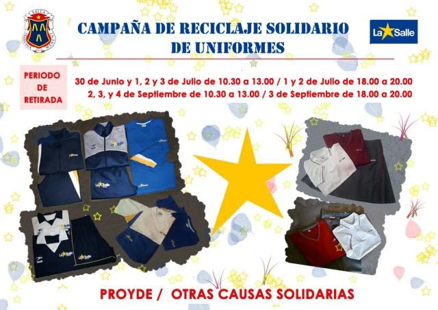 campaña uniformes
