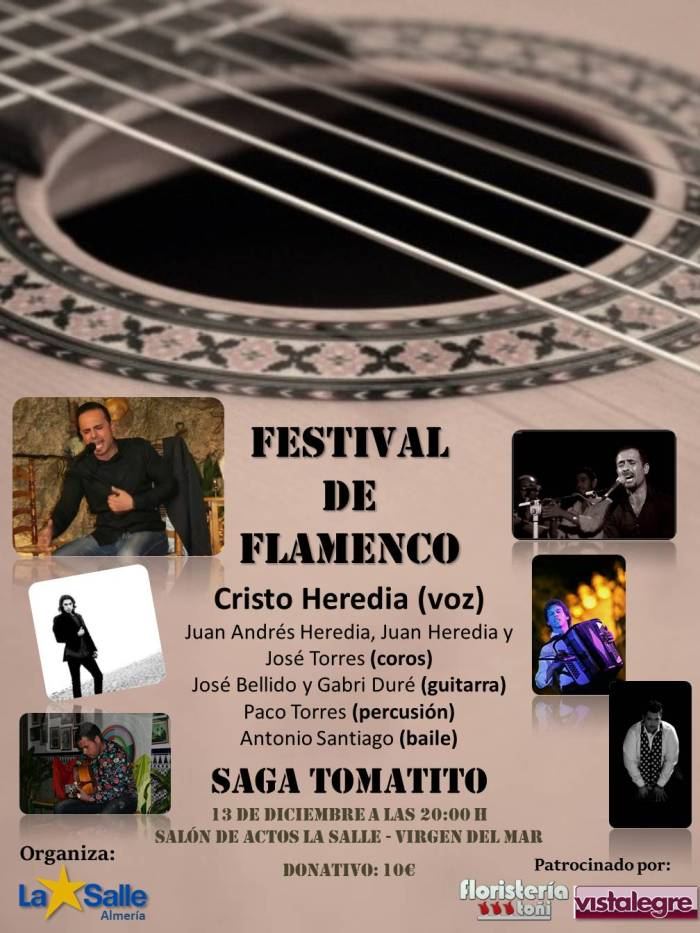 Cartel Festival Flamenco