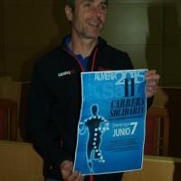 Tres Campeones del Mundo de atletismo apoyando la Carrera Solidaria por las Enfermedades Poco Frecuentes