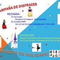 Inicio de la Campaña del Disfraz Solidario Curso 2015-2016