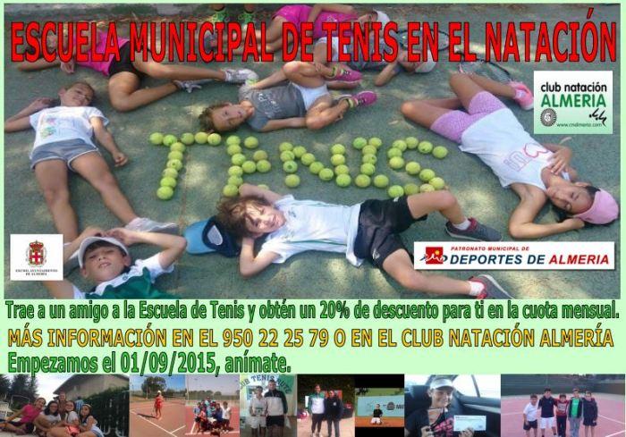 escuela tenis CNA cartel