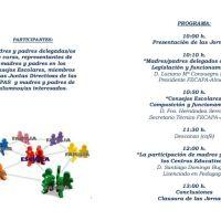 Jornadas de Formación de Delegados y Miembros de Consejo Escolar: 11 Marzo
