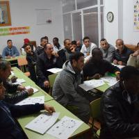 El Mercadillo del Libro Solidario recauda 461 euros,  ayuda al Proyecto Meson Gitano y permite poner en marcha el aula de informática de inmigrantes de San Isidro
