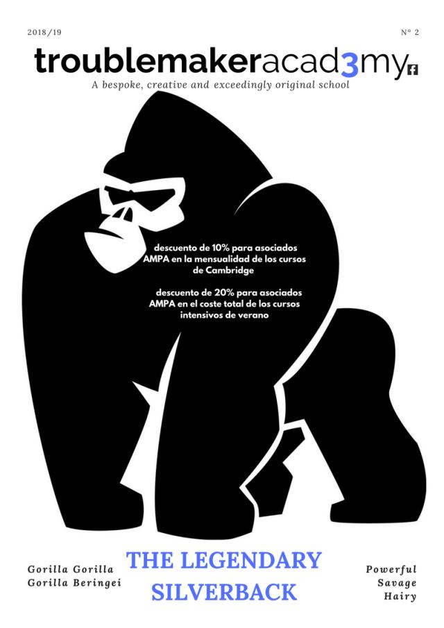 Nuevo convenio comercial AMPA: TroublemakerAcad3my