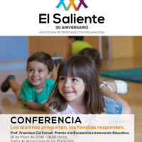 Conferencia: Los alumnos preguntan. Las Familias responden.
