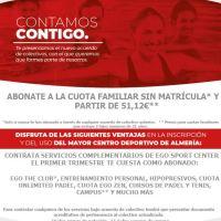 Renovación del Convenio con Ego Sport Center para AMPA La Salle Virgen del Mar